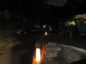 Soulfire Camp 2014 - Pistenbeleuchtung